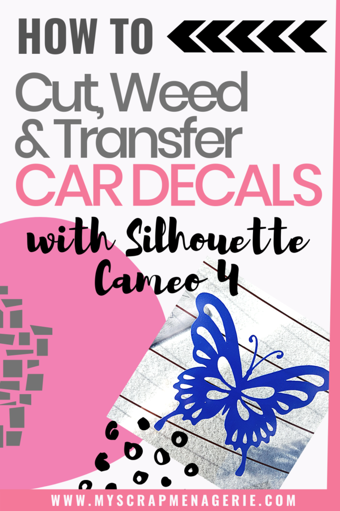 How To Cut Weed Transfer Car Decals Pin1