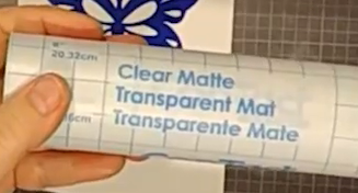 Clear Matte Contact Paper
