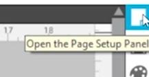 Page Setup Panel